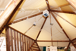 エキュート立川10周年記念でフォレストドーム設置の写真6