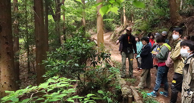森と踊る木こりフェス2021 春 タイトル画像